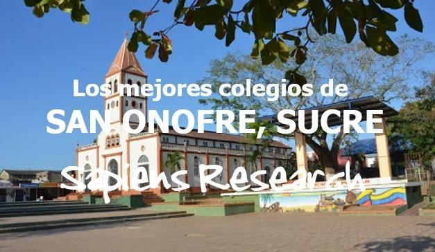 Los mejores colegios de San Onofre, Sucre