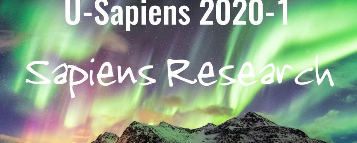 Reporte U-Sapiens 2020-1
