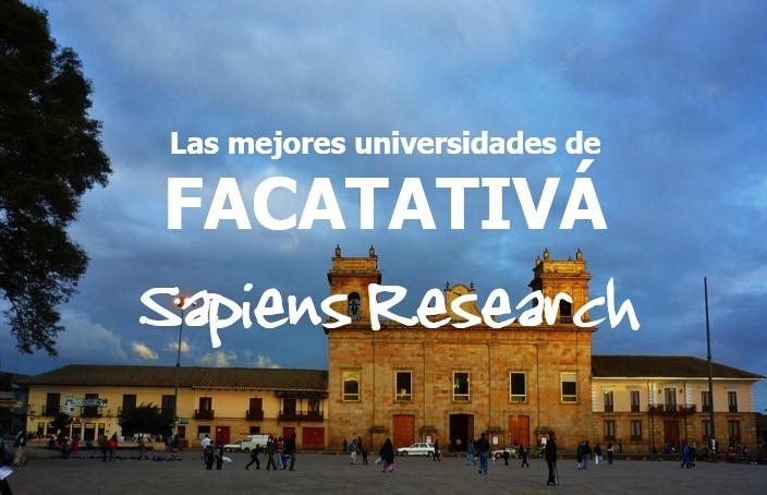 Las mejores universidades de Facatativá