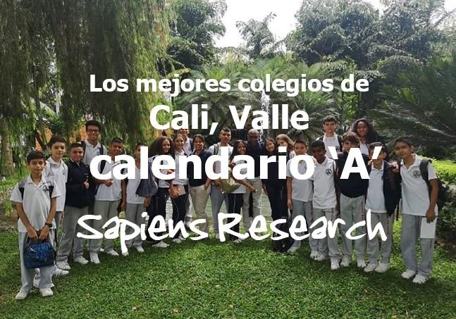 Los mejores colegios de Cali, Valle calendario 'A'
