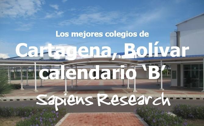 Los mejores colegios de Cartagena, Bolívar calendario 'B'