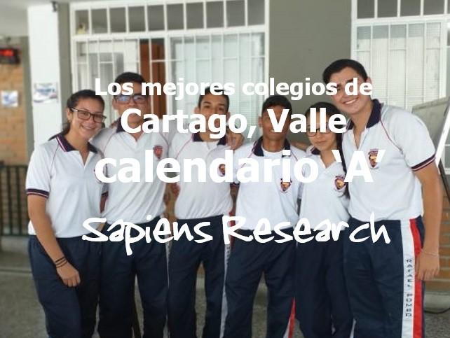 Los mejores colegios de Cartago, Valle calendario 'A'