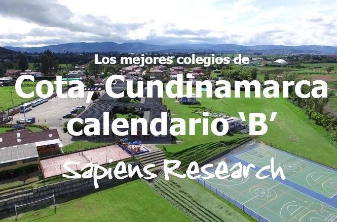 Los mejores colegios de Cota, Cundinamarca calendario 'B'