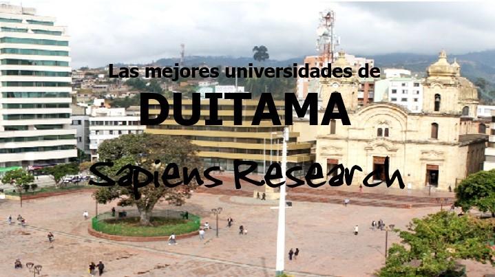 Las mejores universidades de Duitama