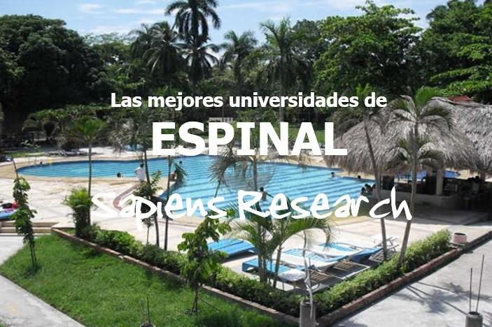 Las mejores universidades de Espinal