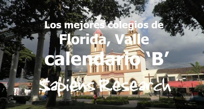 Los mejores colegios de Florida, Valle calendario 'B'