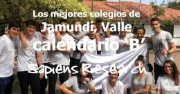 Los mejores colegios de Jamundí, Valle calendario 'B'