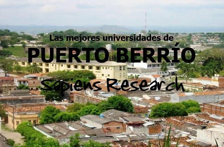 Las mejores universidades de Puerto Berrío