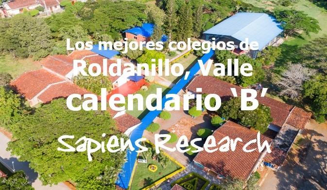 Los mejores colegios de Roldanillo, Valle calendario 'B'