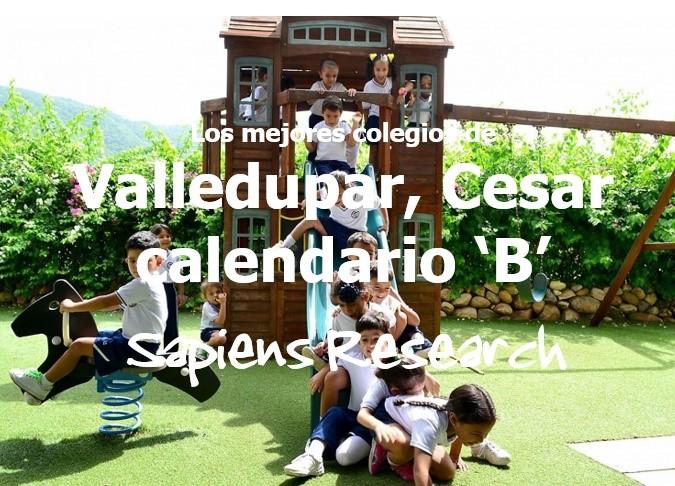 Los mejores colegios de Valledupar, Cesar calendario 'B'