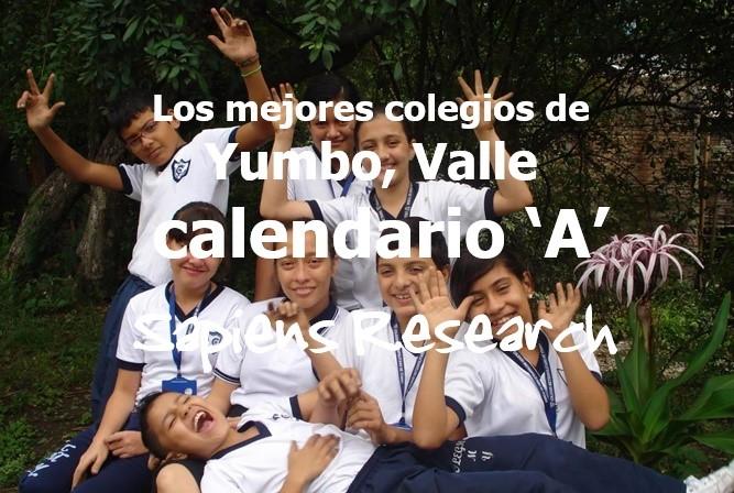 Los mejores colegios de Yumbo, Valle calendario 'A'