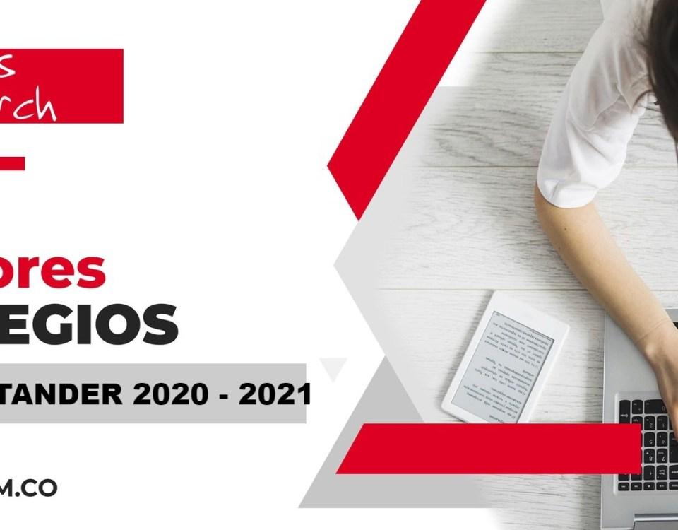 Ranking mejores Colegios-Barbosa, Santander 2020-2021