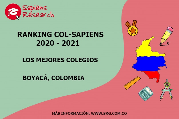 Ranking mejores Colegios-Boyacá, Colombia 2020-2021