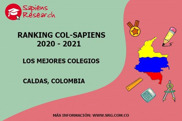 Ranking mejores Colegios-Caldas, Colombia 2020-2021
