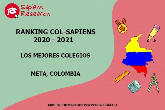 Ranking mejores Colegios-Meta, Colombia 2020-2021