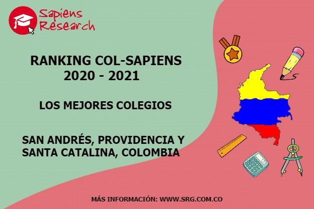 Ranking mejores Colegios-San Andrés, Providencia y Santa Catalina Colombia 2020-2021