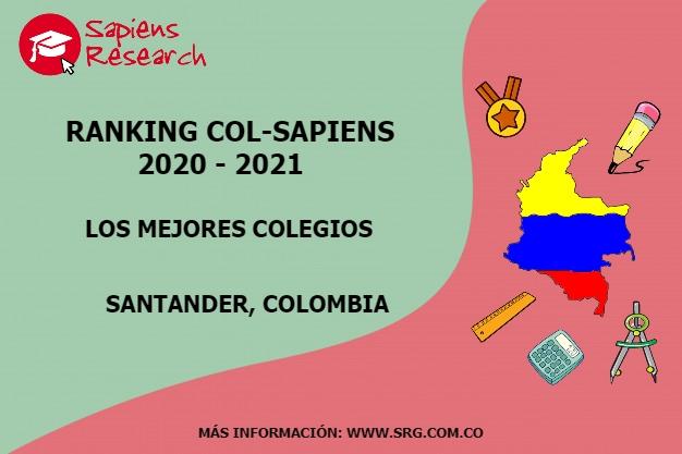 Ranking mejores Colegios-Santander, Colombia 2020-2021