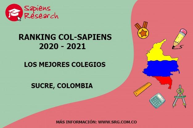 Ranking mejores Colegios-Sucre, Colombia 2020-2021