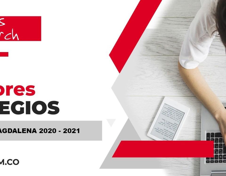 Ranking mejores Colegios-Santa Marta, Magdalena, Colombia 2020-2021