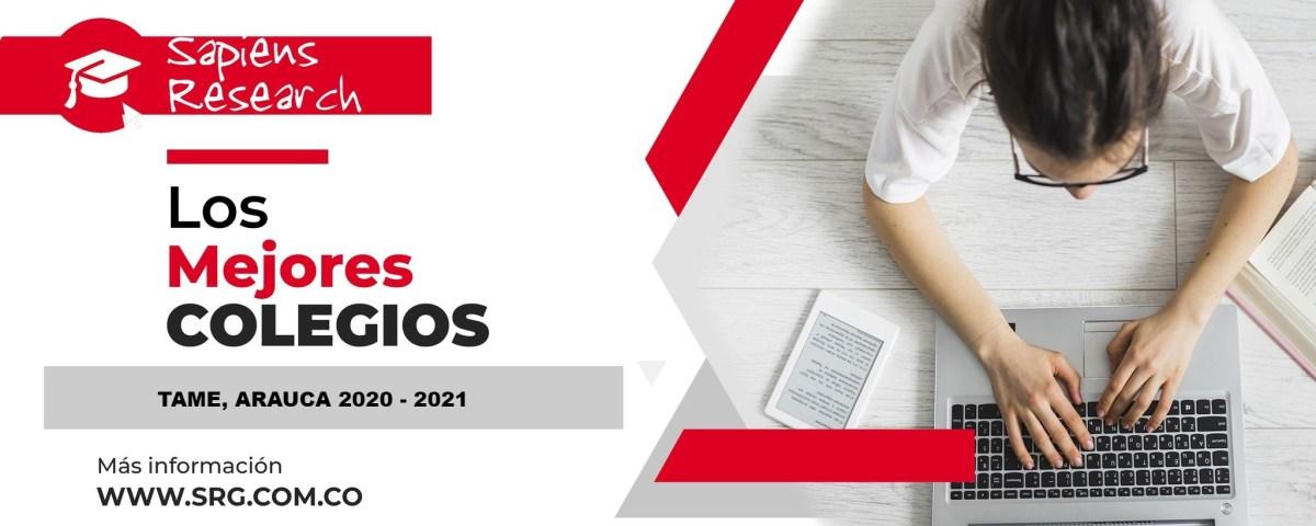 Ranking mejores Colegios-Tame, Arauca, Colombia 2020-2021
