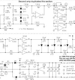 the phantom power voltage is usually made using a separate transformer output or using a dc dc converter one example of such dc dc converter circuit  [ 1024 x 843 Pixel ]