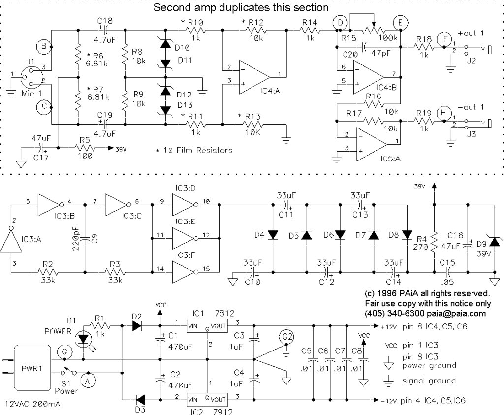 hight resolution of  the phantom power voltage is usually made using a separate transformer output or using a dc dc converter one example of such dc dc converter circuit