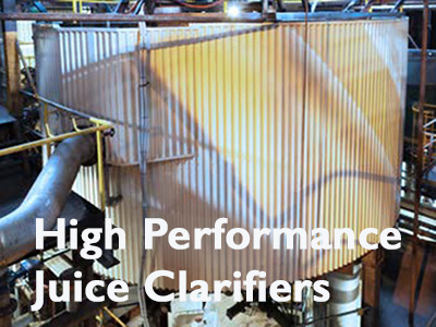 SRI High Performance Juice Clarifiers