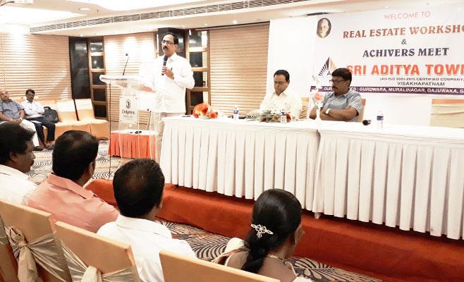Workshop and Achievers Meeting of Sri Aditya Township