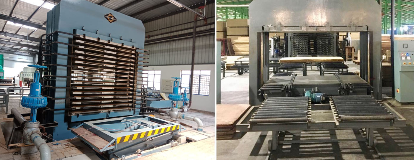 hydraulic press manufacturers plywood