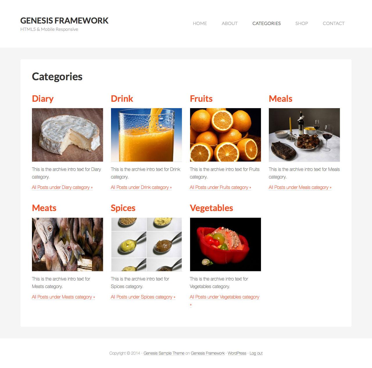 Category images grid template in genesis sridhar katakam categories grid maxwellsz