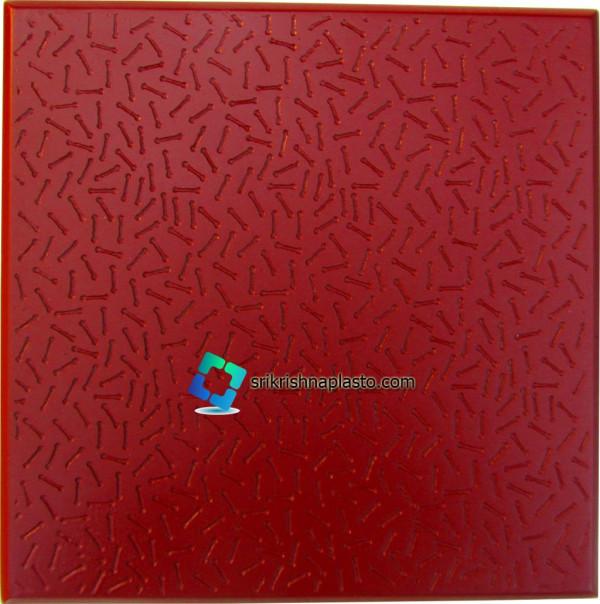 Square Paver Block 200mm X 200mm Rubber Mould
