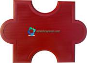 Oxford Rubber Paver Mould / Interlocking Tiles Moulds