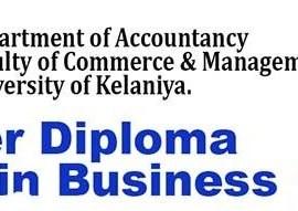 University of Kelaniya External Diploma