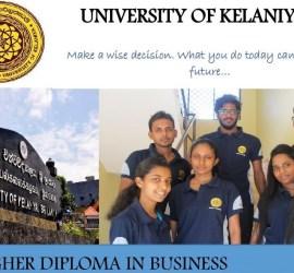 University of Kelaniya Higher Diploma