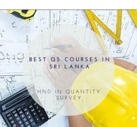 QS Courses in Sri Lanka