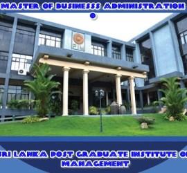 Sri Lanka Post graduate Institute of Management