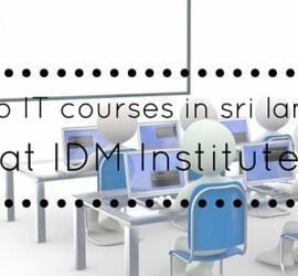 IT courses in sri lanka