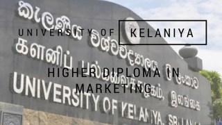 University of Keleniya Higher Diploma