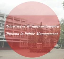 University of Sri Jayewardenepura External