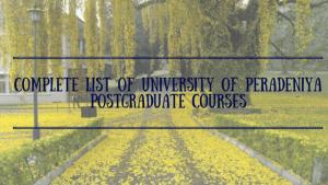 University of Peradeniya