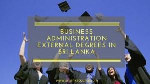 degrees in Sri Lanka