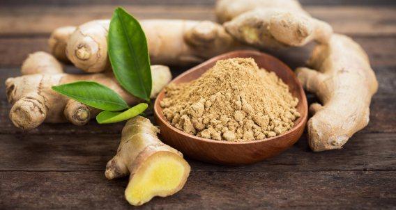 Sri Lanka spices ginger