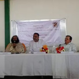 Sri Sri inaugurates Good Governance department at Sri Sri University
