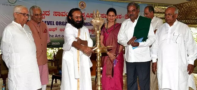 1500 Farmers from Karnataka meet to harvest benefits of Organic Farming