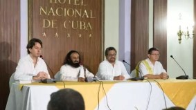 गुरुदेव श्री श्री रवि शंकरजींनी कोलंबियन जनतेला शांततेला आणखी एक संधी देण्यासाठी आवाहन केले | Sri Sri Ravi Shankar Calls on Colombians to Give Peace Another Chance