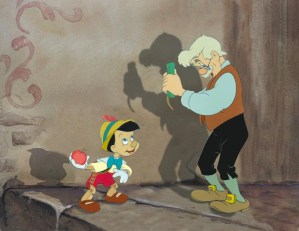 #025 PINOCCHIO AND GEPPETTO COLOR MODEL Image