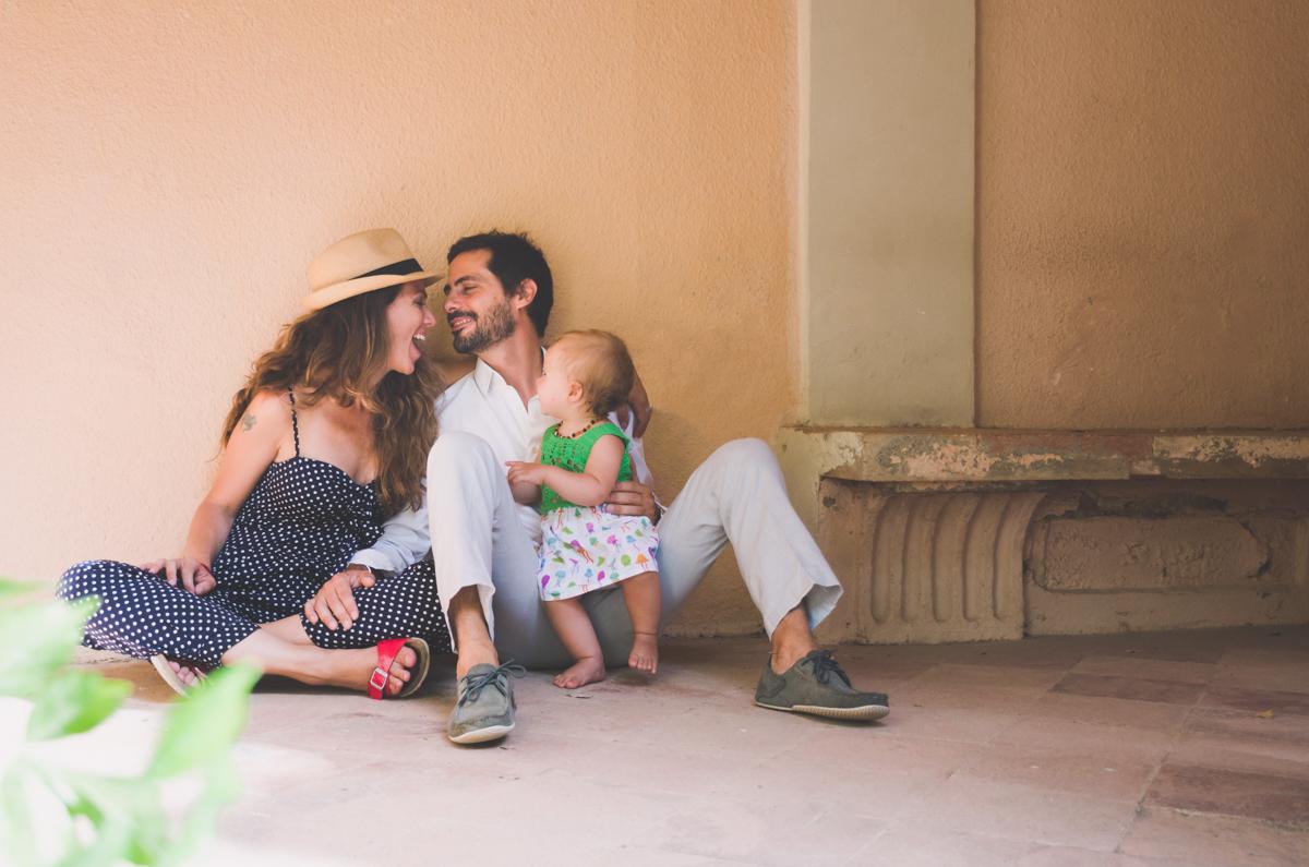 Sesión de fotos en familia en Barcelona
