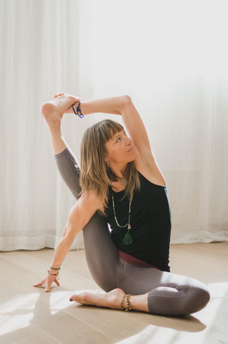 Retrato yoga