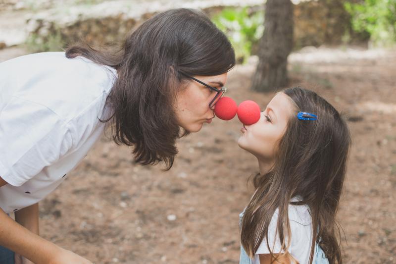 Sesion fotos divertidas niños Vilanova i la Geltru