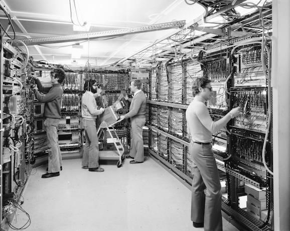 Cern control room 1975